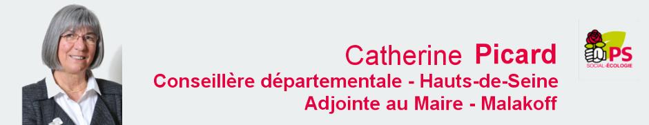Catherine Picard, votre élue au Conseil départemental