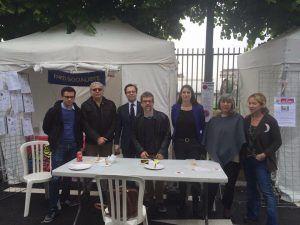 Les socialistes de Malakoff à la Fête de la Ville